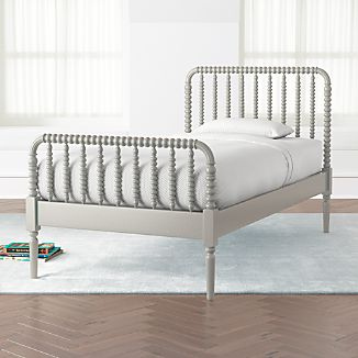 Jenny Lind Grey Twin Bed & Jenny Lind Furniture | Crate and Barrel