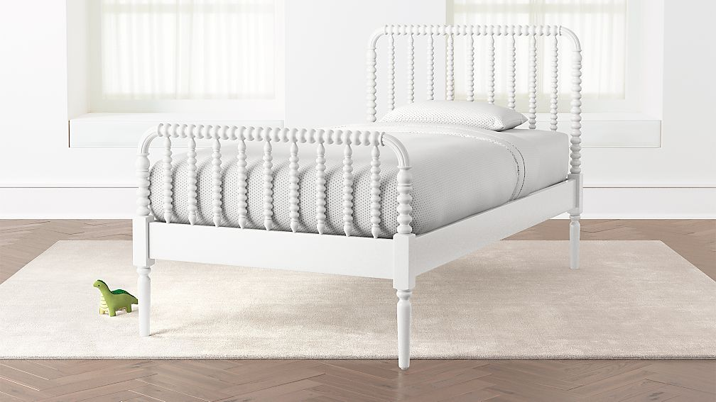 Jenny Lind White Twin Bed Reviews Crate And Barrel