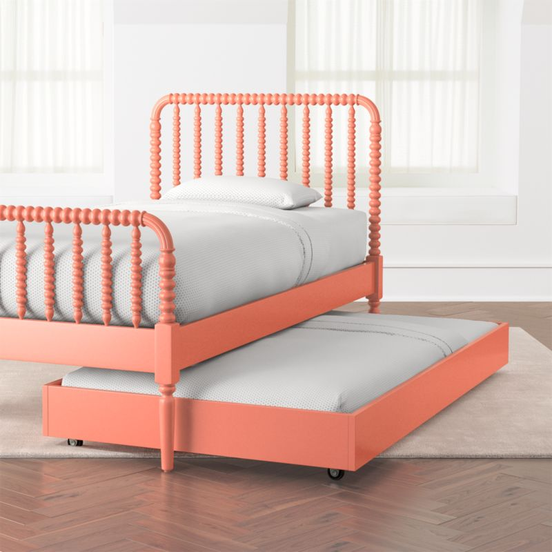 Coral Jenny Lind Trundle Bed Reviews Crate And Barrel