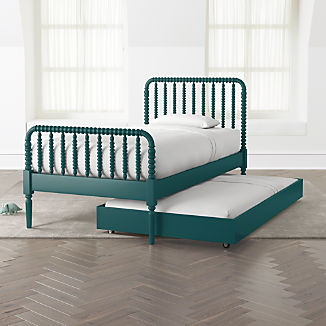 Jenny Lind Peacock Trundle Bed