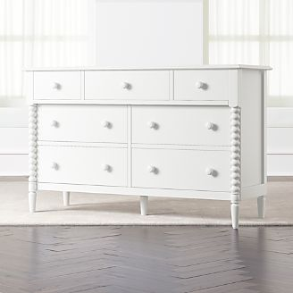 Charmant Kids Jenny Lind Wide White Dresser