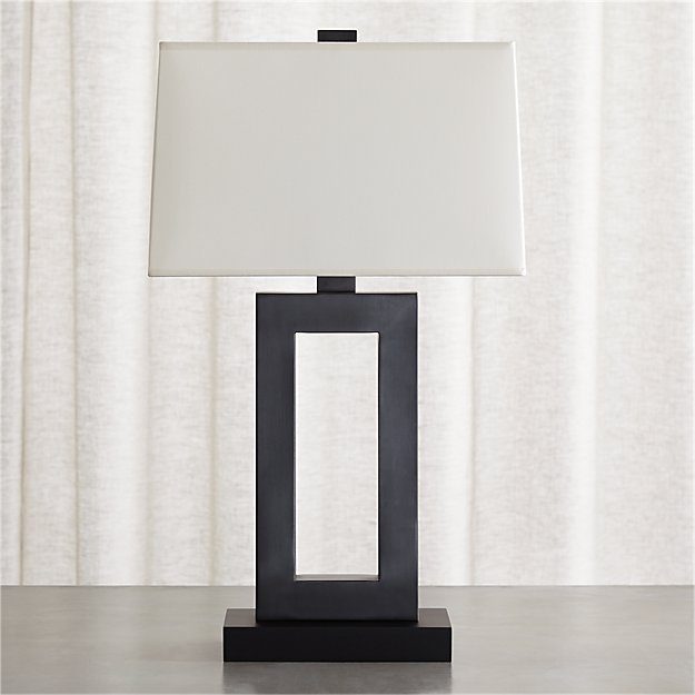 Duncan Antiqued Bronze Table Lamp - Image 1 of 7