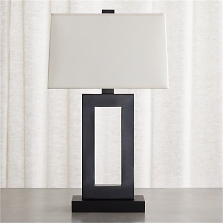 Duncan Table Lamp With Ivory Shade
