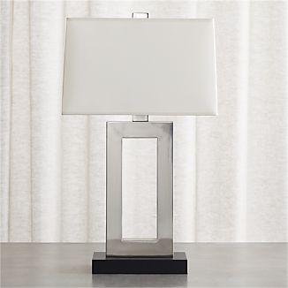 Duncan Antiqued Silver Table Lamp