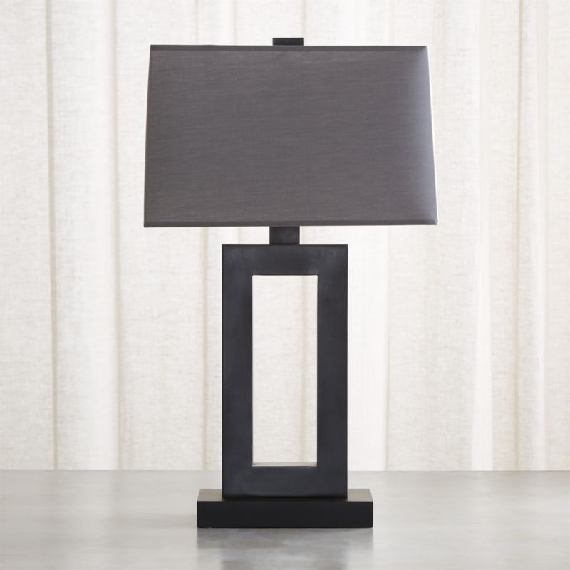 Duncan Antiqued Bronze Table Lamp Reviews Crate And Barrel