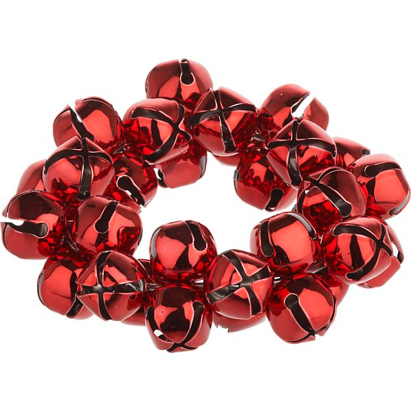 Jingle Red Napkin Ring