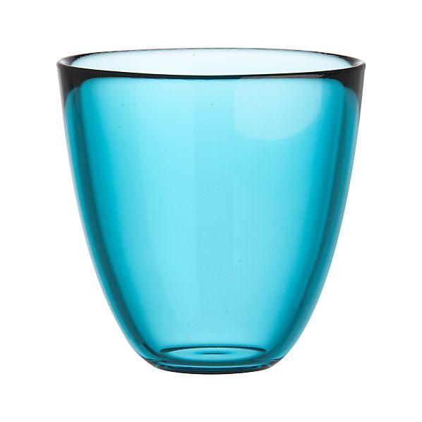 Joey Aqua  Beverage Glass