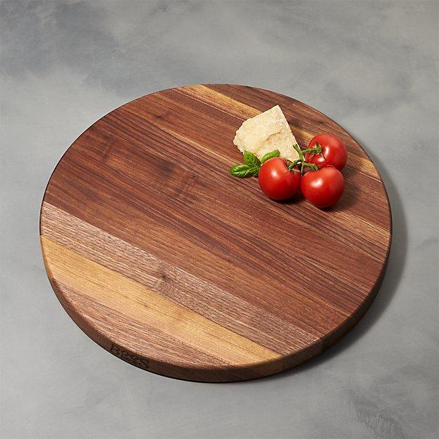 "John Boos 18""x1.5"" Edge Grain Walnut Cutting Board"