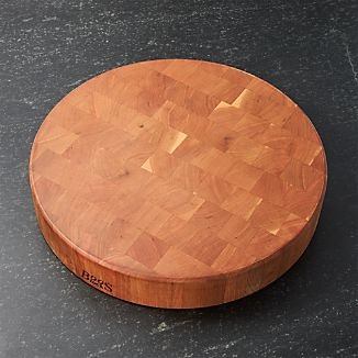 "John Boos 18""x3"" End Grain Cherry Cutting Board"