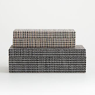 Jolie Woven Boxes
