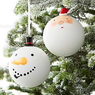 glass christmas ornaments canada