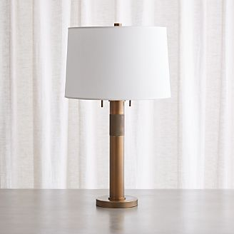 Jordan Brass Table Lamp
