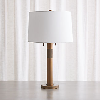 Jordan Brass Table Lamp