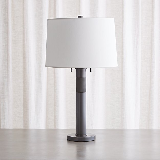 Jordan Bronze Table Lamp - Image 1 of 8