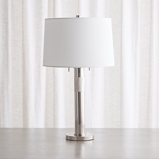 Jordan Chrome Table Lamp - Image 1 of 5