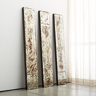 Floor Wall And Over The Door Mirrors Crate And Barrel