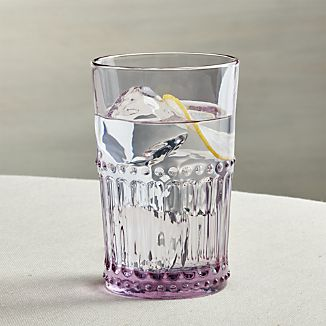 Josie Lilac Highball Glass
