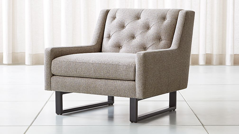 Jourdan Tufted Back Chair - Image 1 of 6