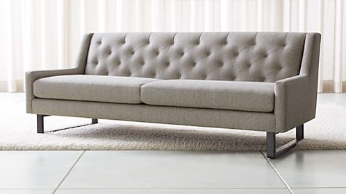 Attractive Jourdan Tufted Back Sofa
