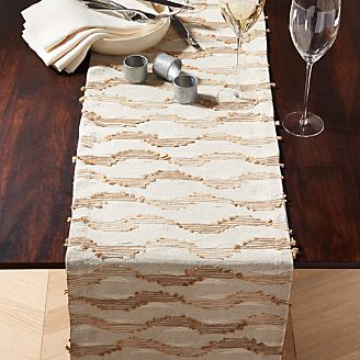 Jude Embroidered Table Runner