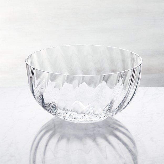 Julia Large Glass Serving Bowl