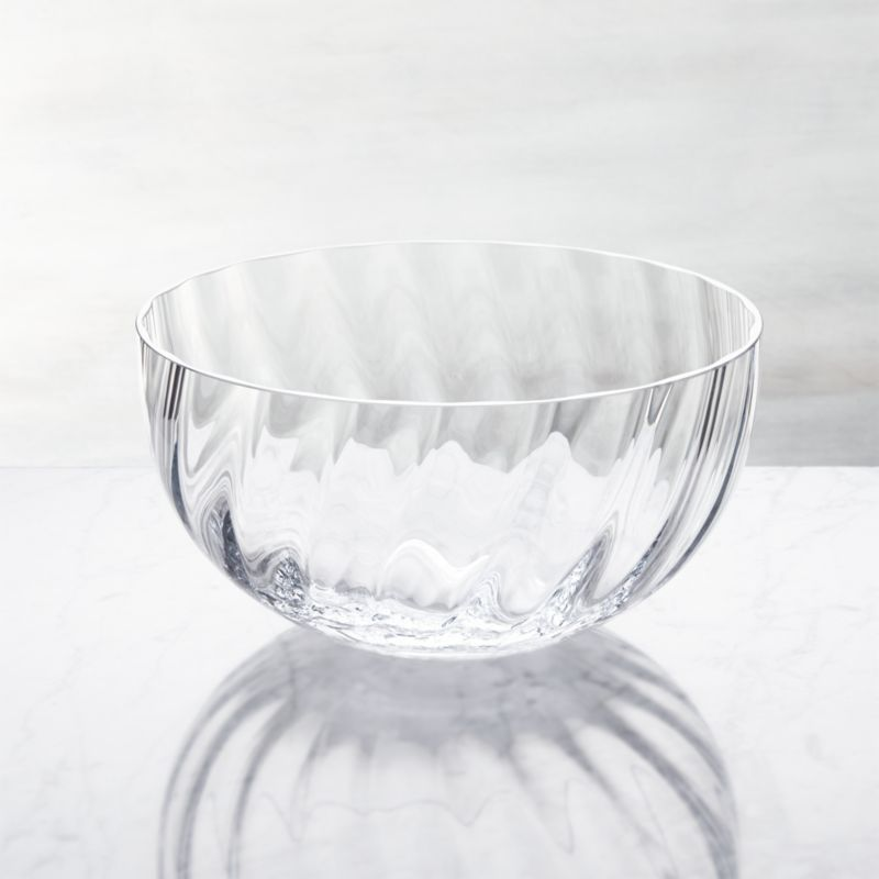 Julia Large Glass Serving Bowl
