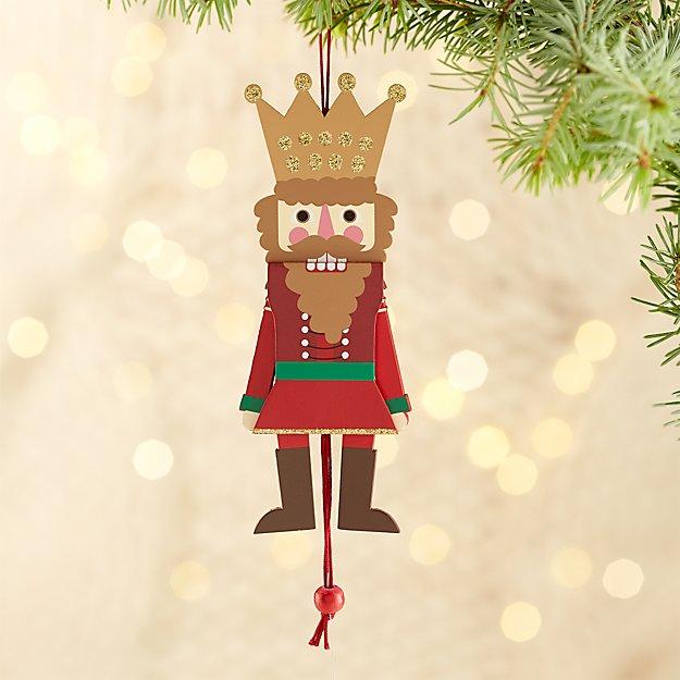 Jumping King Nutcracker Ornament