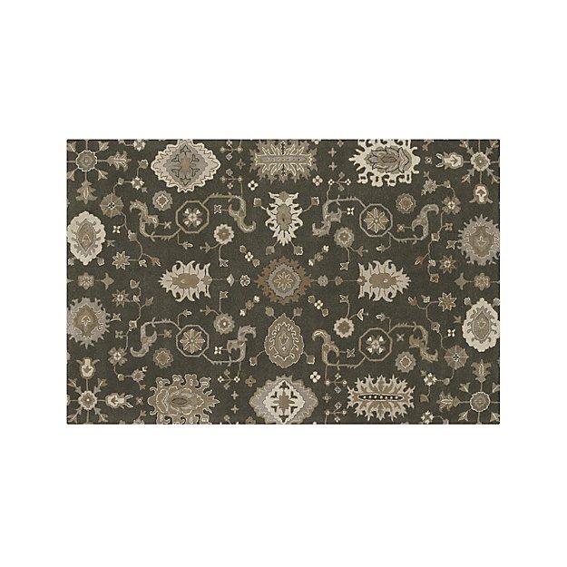 Juno Grey Wool 6'x9' Rug