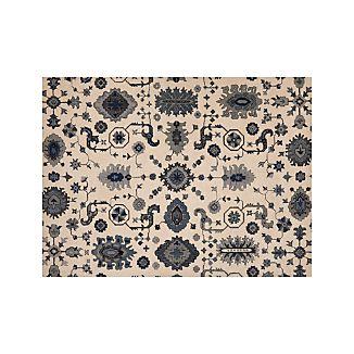 Juno Blue Wool 9'x12' Rug