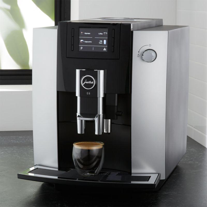 Jura E6 Espresso Machine Crate And Barrel