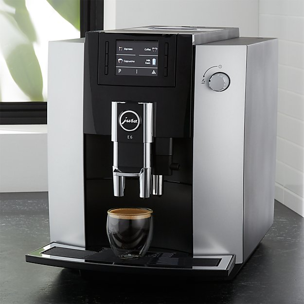 jura e6 espresso machine crate and barrel. Black Bedroom Furniture Sets. Home Design Ideas