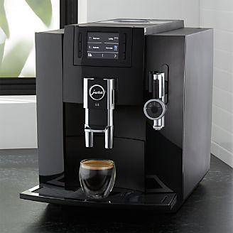espresso maker and espresso machine crate and barrel. Black Bedroom Furniture Sets. Home Design Ideas