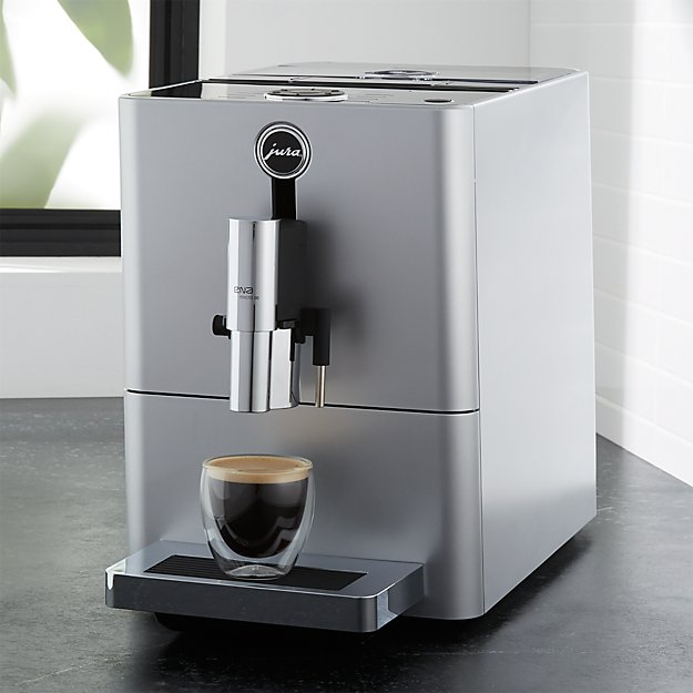 jura ena micro 90 espresso machine crate and barrel. Black Bedroom Furniture Sets. Home Design Ideas