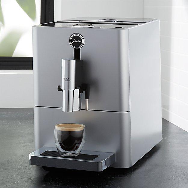 Jura Ena Micro 90 Espresso Machine | Crate and Barrel