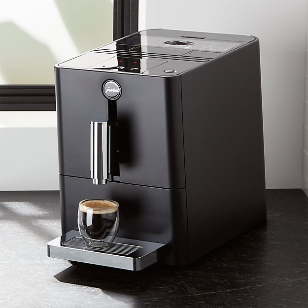 jura ena micro 1 espresso machine crate and barrel. Black Bedroom Furniture Sets. Home Design Ideas