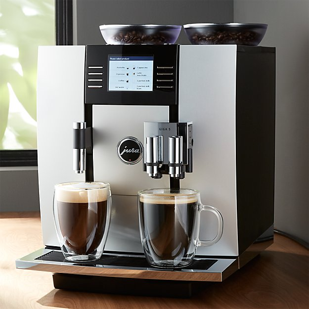 jura giga 5 espresso machine crate and barrel. Black Bedroom Furniture Sets. Home Design Ideas
