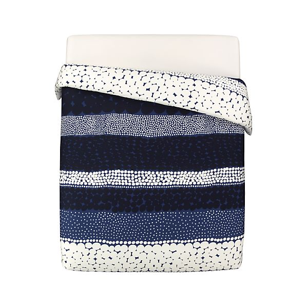 Marimekko Jurmo Blue King Comforter