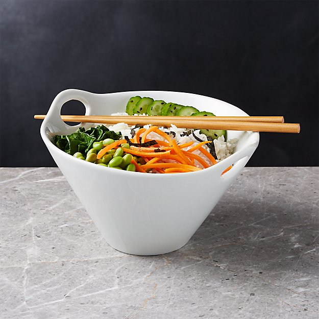 Kai 8 Quot Noodle Bowl With Chopsticks Reviews Crate And