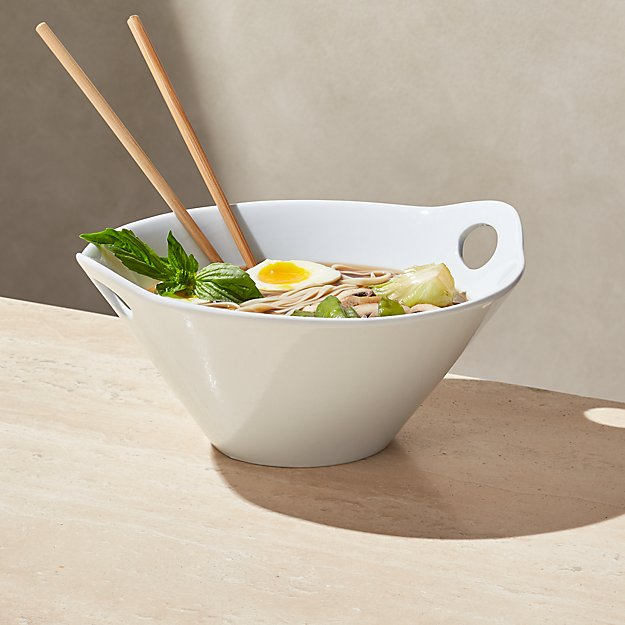 "Kai 11"" Noodle Bowl with Chopsticks - Image 1 of 3"