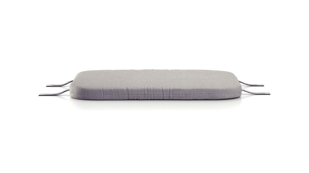Kali Outdoor Aluminum Ottoman Cushion - Image 1 of 1