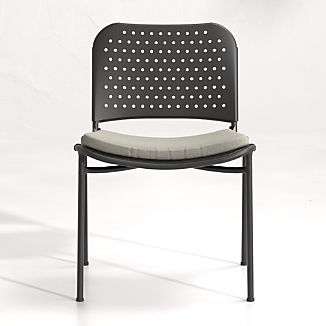 Kali Outdoor Aluminum Dining Chair with Cushion