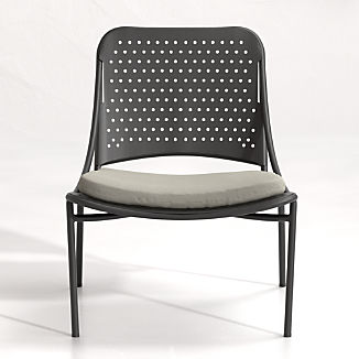 Kali Outdoor Aluminum Lounge Chair with Cushion