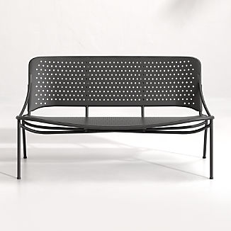 Kali Outdoor Aluminum Loveseat