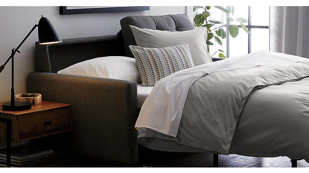Karnes Grey Queen Sleeper Sofa In Sleeper Sofas Reviews