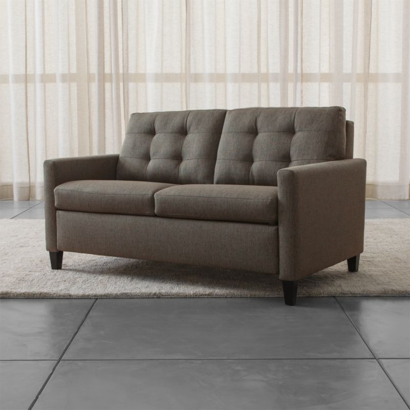 Karnes Full Tufted Sleeper Sofa Reviews Crate and Barrel