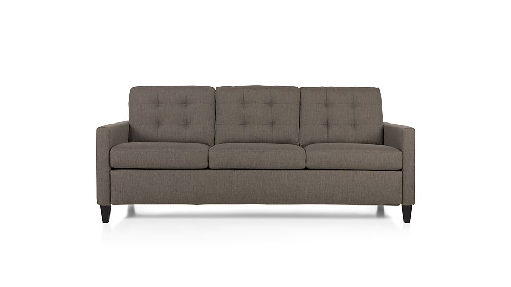 Comkings Sofa : Karnes King Sleeper Sofa Meritage: Storm  Crate and Barrel