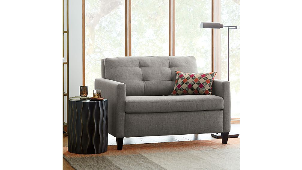 Karnes Twin Sleeper Sofa Chair In Sleeper Sofas Reviews Crate And Barrel