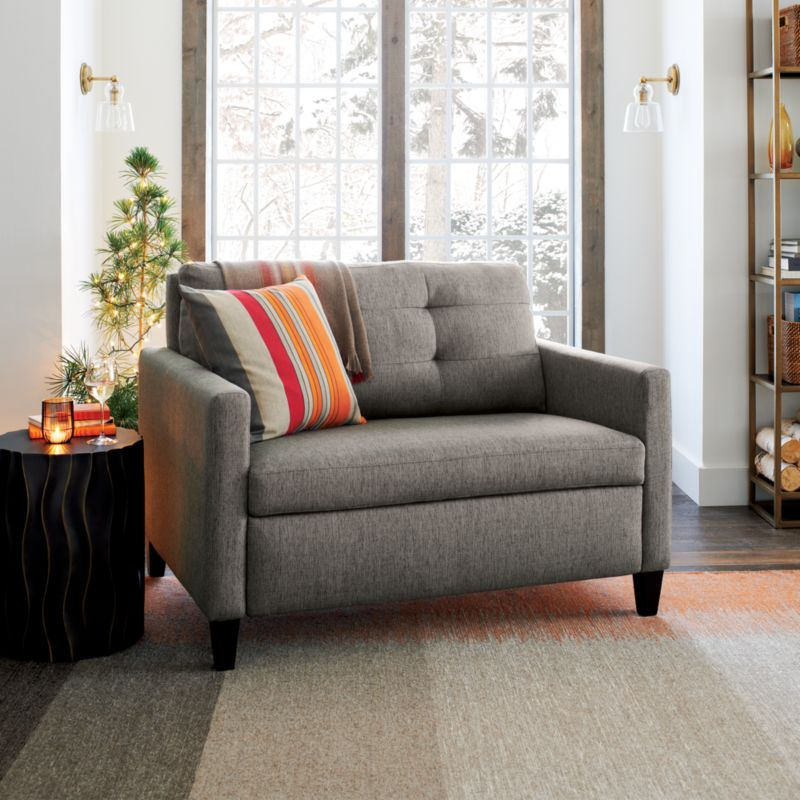 Karnes Twin Sleeper Sofa Chair Reviews Crate and Barrel