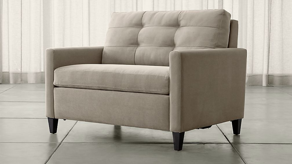 Crate And Barrel Karnes Sleeper Sofa Review Awesome Home