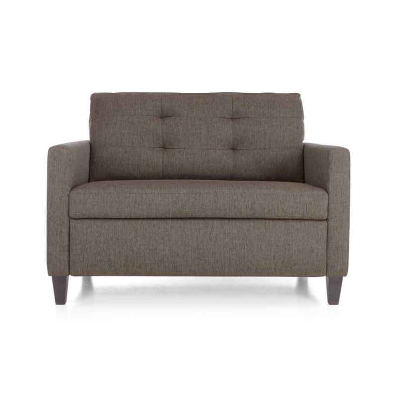 Karnes Twin Sleeper Sofa Chair Reviews Crate and Barrel